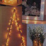Lampki choinkowe jako dekoracja cz.1