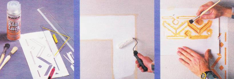 malowanie bordiury