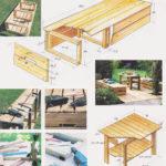 Drewniany taras cz.3 - Wykonanie ławy i stolika
