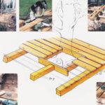 Drewniany taras cz.2 - Wykonanie podestu