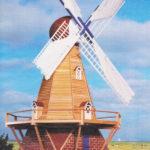 Holenderski wiatrak ogrodowy cz1.