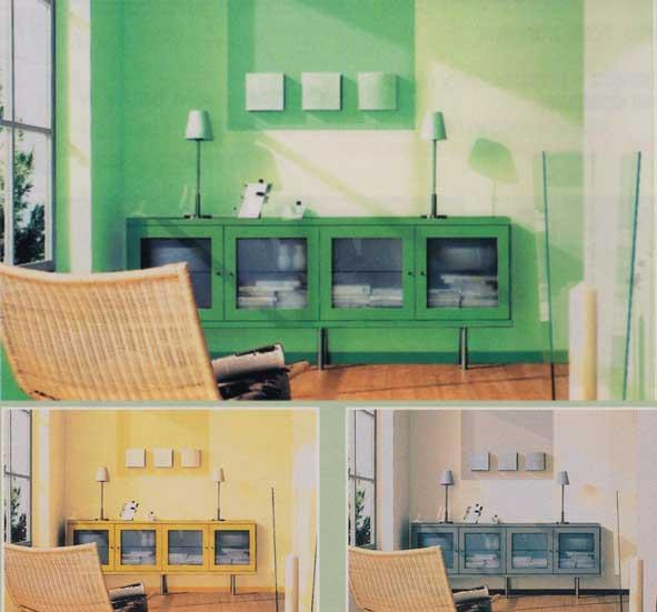 pokoj 3 kolory
