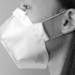 Jak samemu zrobić maskę z materiału - bawełny.