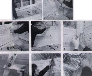 Adaptacja strychu - Boazeria na ścianach i suficie